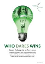 Who Dares Wins - Growth Challenges for an Entrepreneur